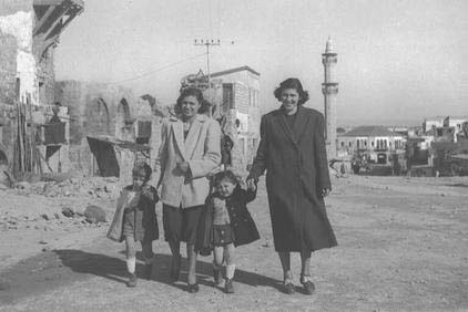 Palestinian city of Jaffa 1949 taken over by newly arrived European Jews