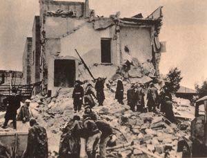 Semiramis Hotel bombed by Jewish terrorists 1948