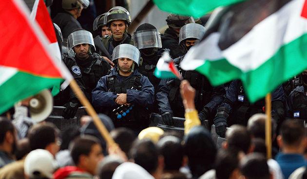 Arab strike in Israel