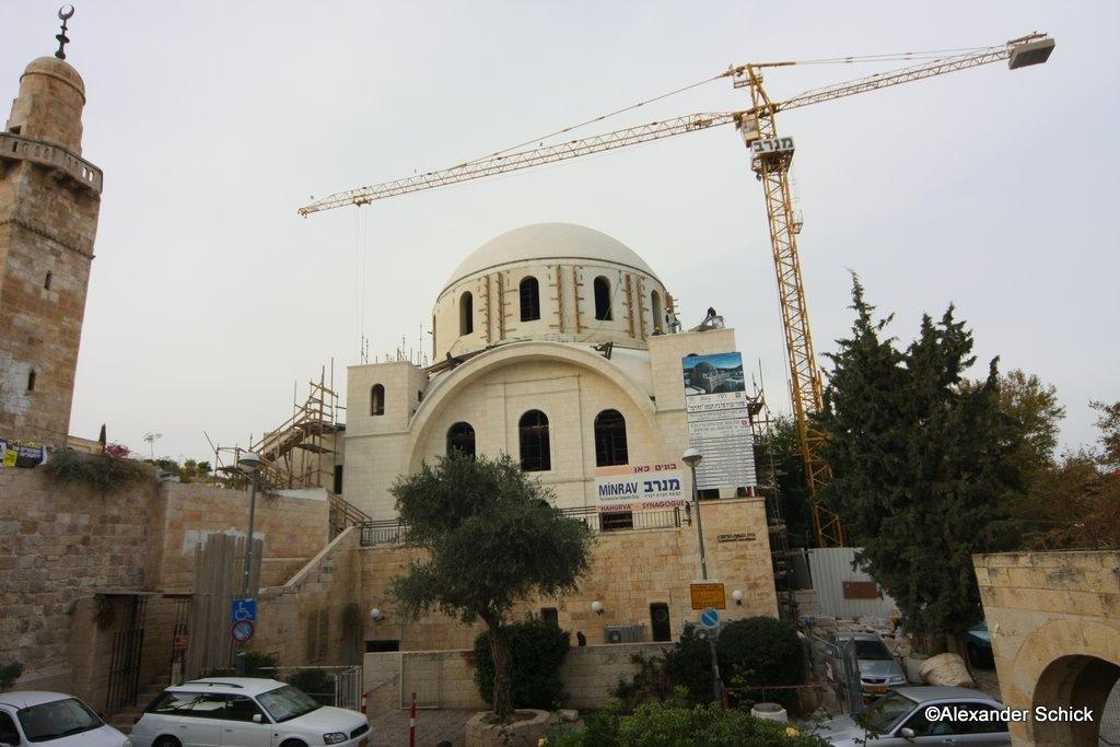 Hurvasynagogueinconstructionas111808042
