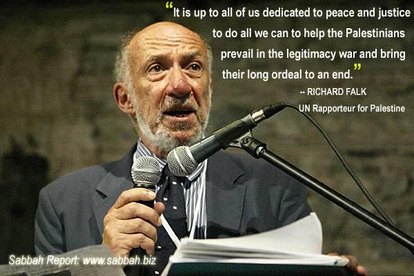 Falk - Delegitimizing Israel - Sabbah Report