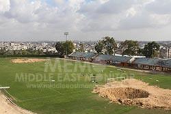 israel-targets-sports-facilities-in-gaza