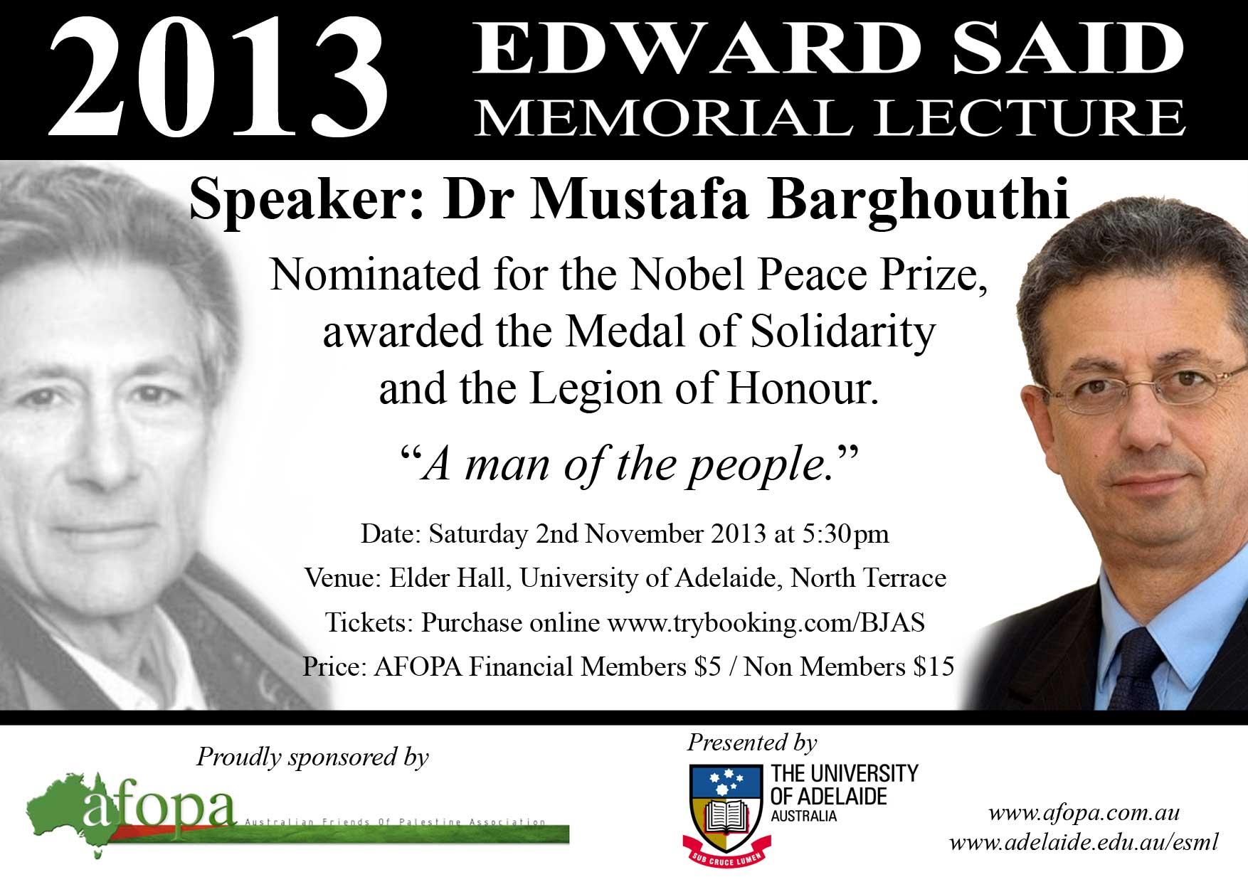ESML-2013-Dr-Mustafa-Barghouthi-Flyer
