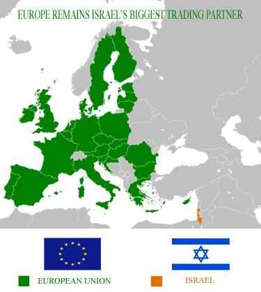 EU ISRAEL'S BIGGEST TRADING PARTNER